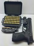 M&P 9, Leatherman Mut, Detroit Bullet Works Ammo Luggage