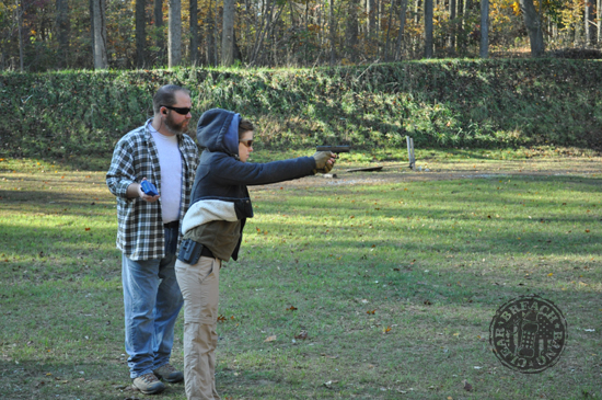 Victory First Fundamentals of EDC - concealed carry Kate Schooley AAR43