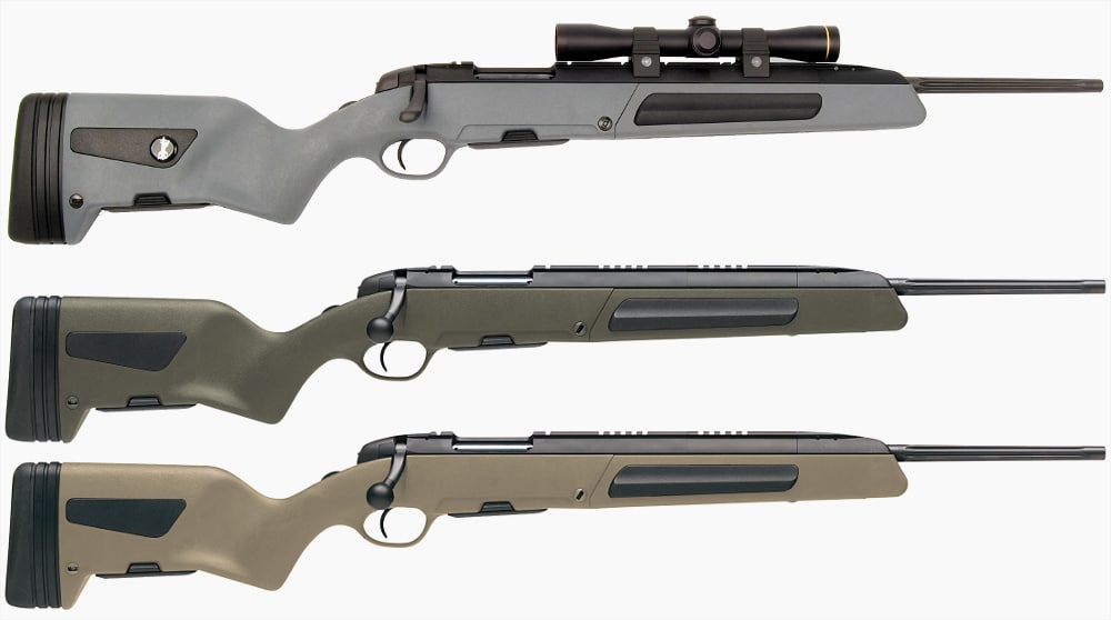 Steyr Scout has new lower price and three colors