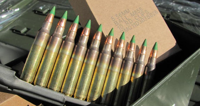 atf considers 5 56 green tip ammo ban calls for comments gat