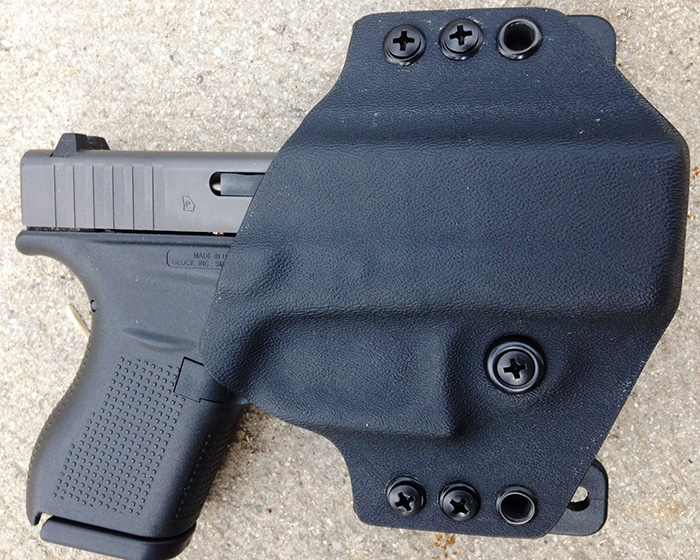 Gear Review Yeti Tac Glock 43 Holster Customizable
