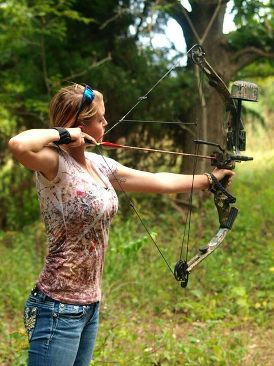 Girls And Archery Gat Daily Guns Ammo Tactical