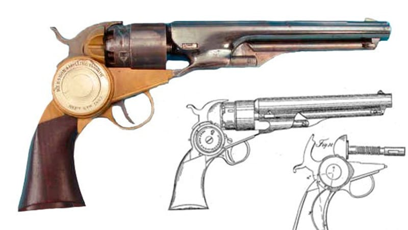 Weird Gun Wednesday: Mershon and Hollingsworth Revolver ...