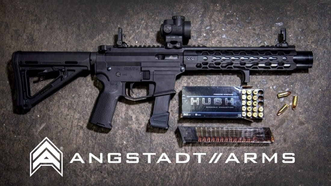 Angstadt Arms Integrally Suppressed 9mm Carbine Video