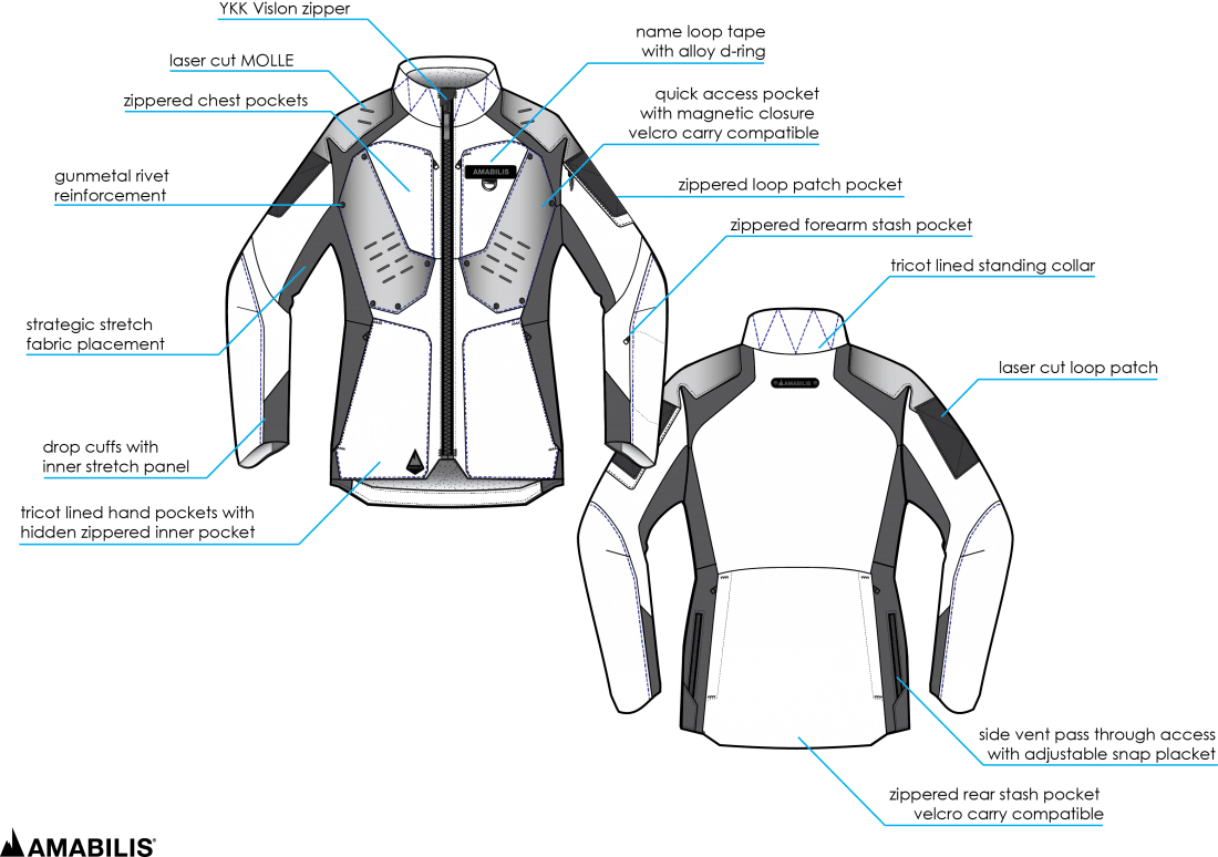 amabilis  tactical inclement weather apparel